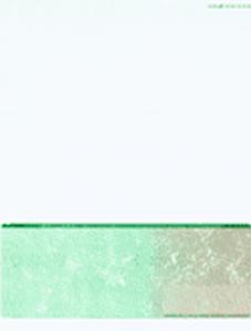 Green Cut Sheet Check with Toner Grip