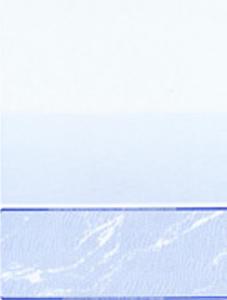 Blue Cut Sheet Check at the Bottom