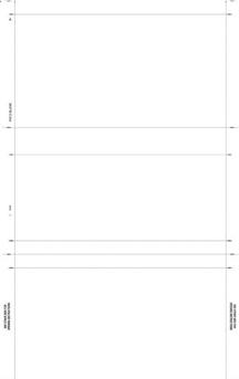 Pressure Seal Check 8 1/2 x 14 Cut Sheet, Z Fold,Blank