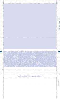 """(X814B2-O) 14"""" EZ-Fold blue original laser check"""