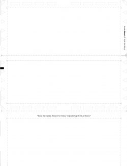 (Z81100BLANK) Z-Fold Blank Front Multipurpose Form