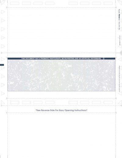 Z811P2-e Z-Fold Prismatic Blue/Green Enhanced Laser Check