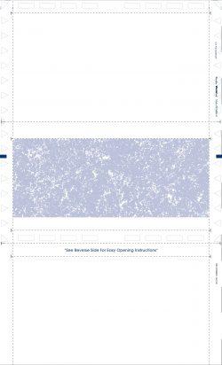 (Z814B2-O) - Z-Fold Original Format Check - Blue