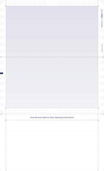"(Z814BA Face) - 14"" Z-Fold Multipurpose with Blue Tint"